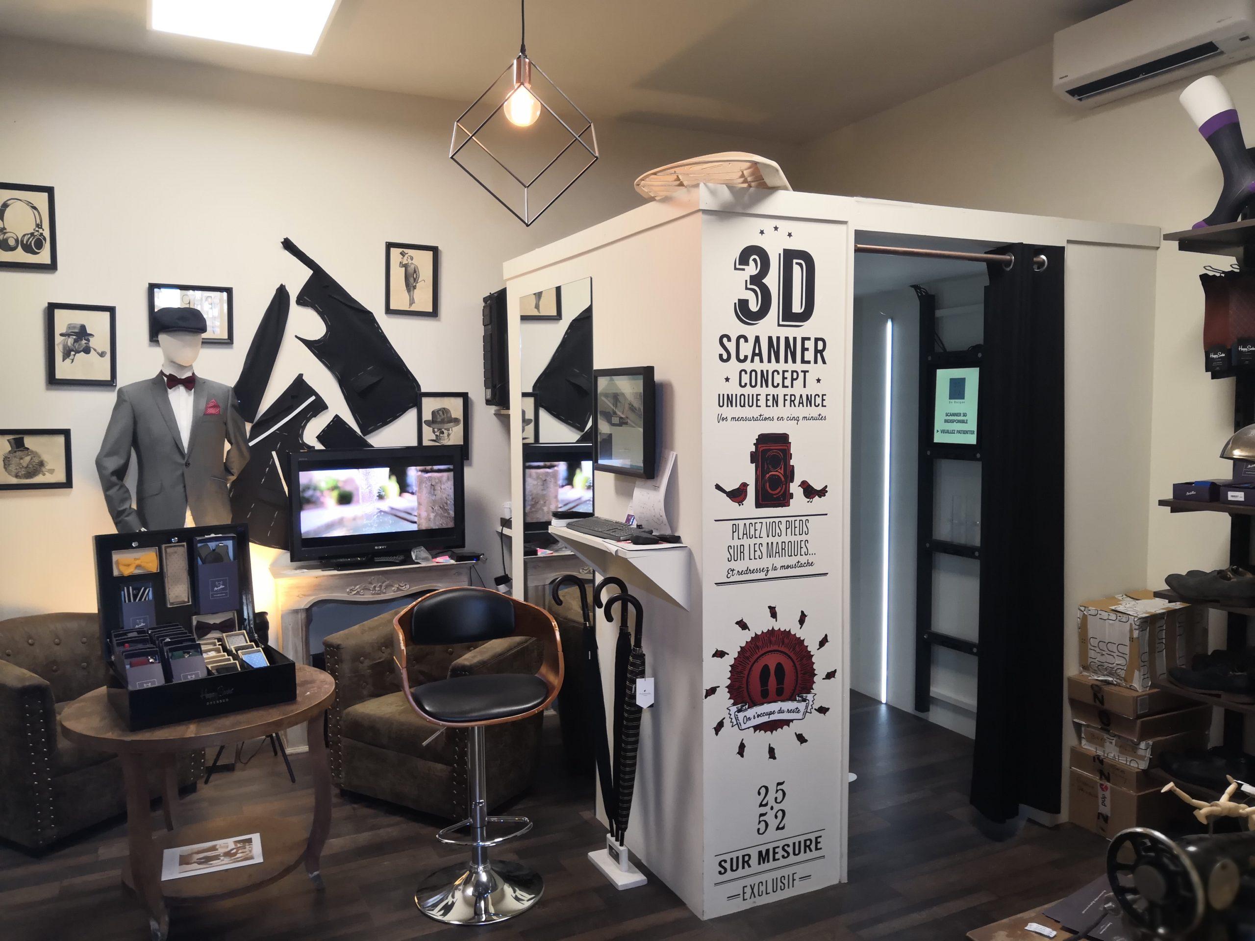 Le Scanner 3D
