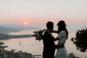 shooting d'inspiration – 2 amoureux sur un Rocher